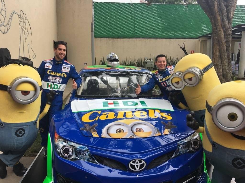 El equipo firmó una alianza con Universal Brand Development para que los Minions aparezcan en el auto. / Sergio Meléndez / Publisport