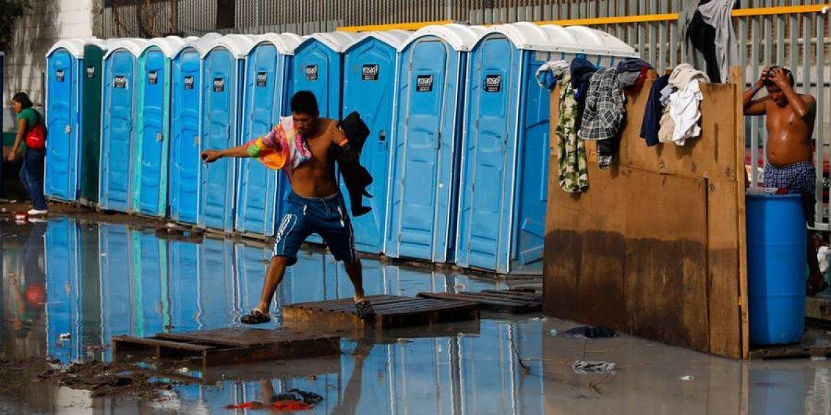 Preocupan condiciones insalubres en albergue de Tijuana