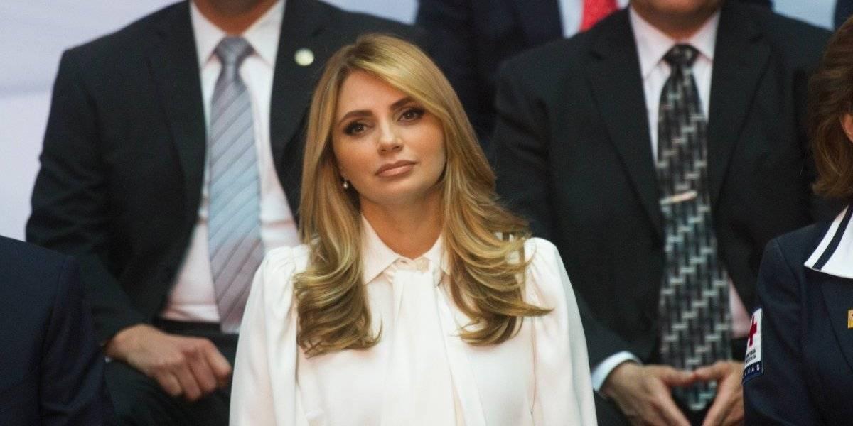Angélica Rivera reaparece en fiesta tras divorcio de Peña Nieto