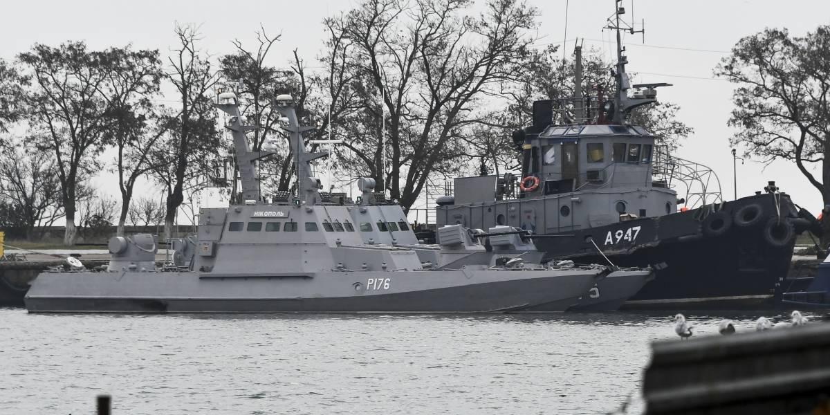¿A punto de sacar las armas? Aumenta la tensión entre Ucrania y Rusia por buques capturados