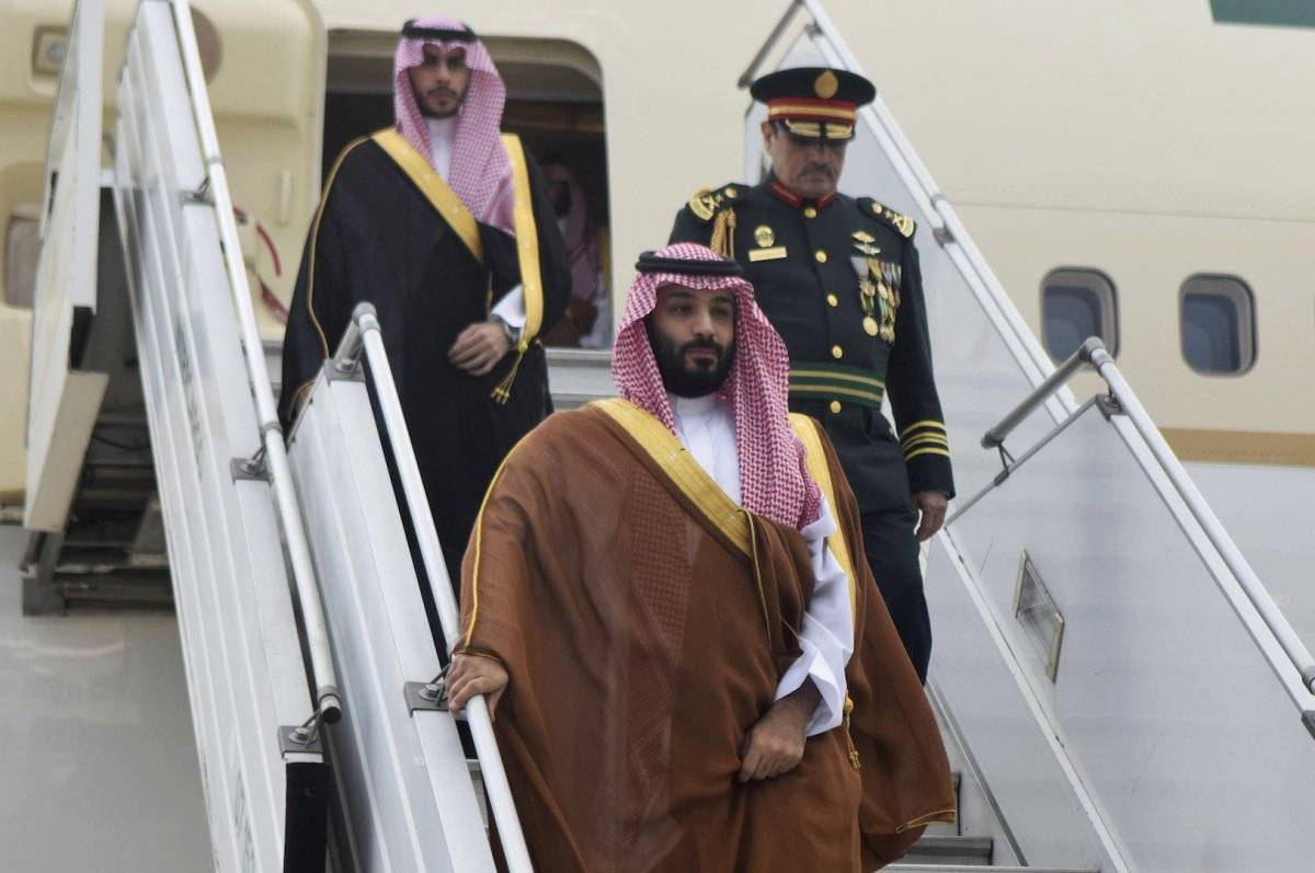 Mohammed bin Salman, príncipe heredero de Arabia Saudita Foto: AP