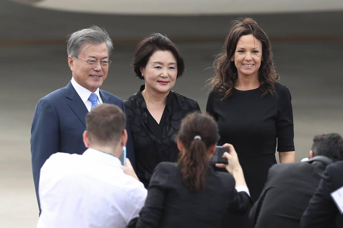 Moon Jae-in, presidente de Corea del Sur Foto: AP
