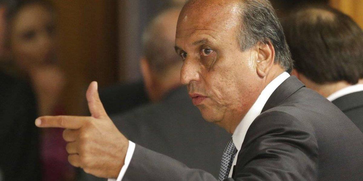 Arrestan gobernador de Río de Janeiro