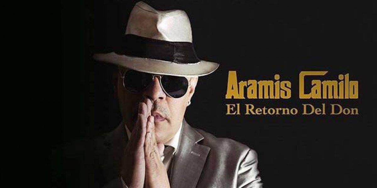 Hoy viernes Aramis Camilo celebra sus 35 años de carrera