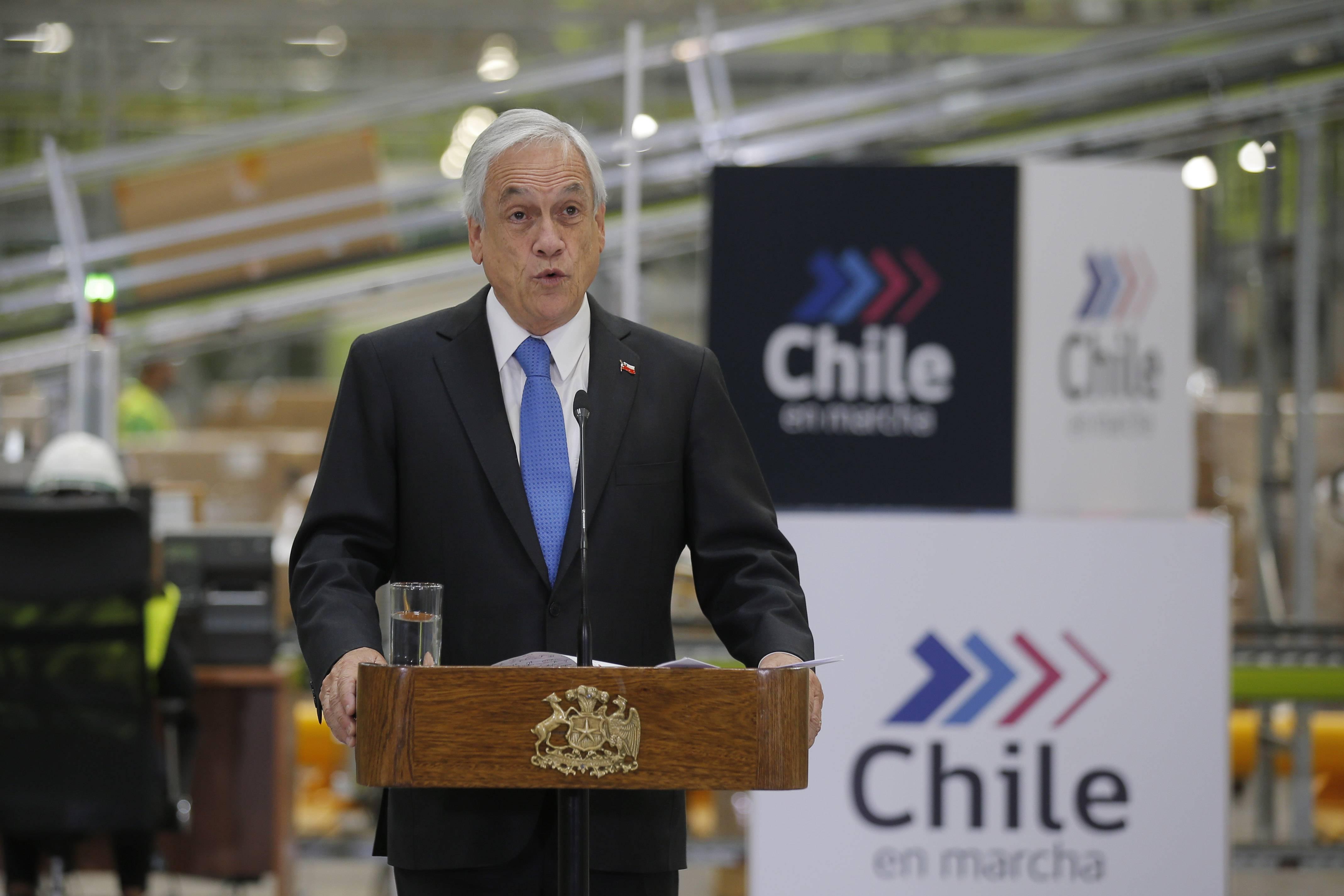 Sebastián Piñera anuncia que las 28 termoeléctricas a carbón en el país serán cerradas antes del 2040