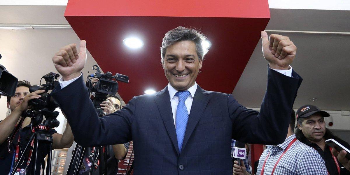 """Moreno tras convertirse en el nuevo presidente de la ANFP: """"Será una gran gestión con un directorio extraordinario"""""""