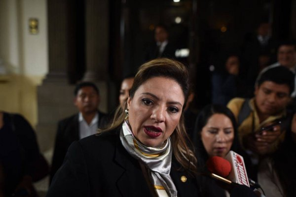Canciller Sandra Jovel