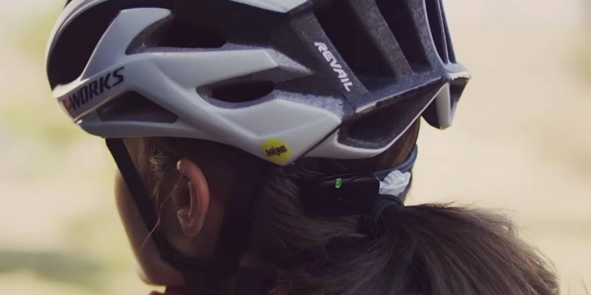 La nueva tecnología para ciclistas: presentan casco inteligente que alerta a tus contactos en caso de accidente