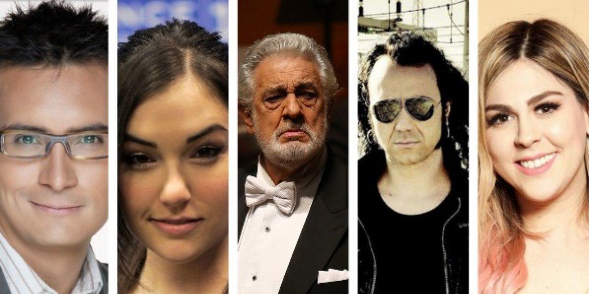 Sasha Grey, Sergio Sepúlveda, Moonspell y Plácido Domingo en la FIL