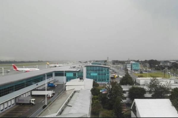 Inundación en el Aeropuerto El Dorado