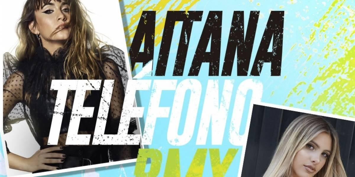 Lele Pons y Aitana presentan el remix de 'Teléfono'
