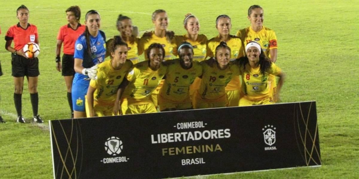 Las chicas del Huila hicieron historia y llegaron a la final de la Libertadores