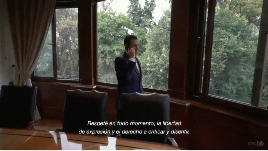 Último Mensaje de Enrique Peña Nieto Fotos: Presidencia