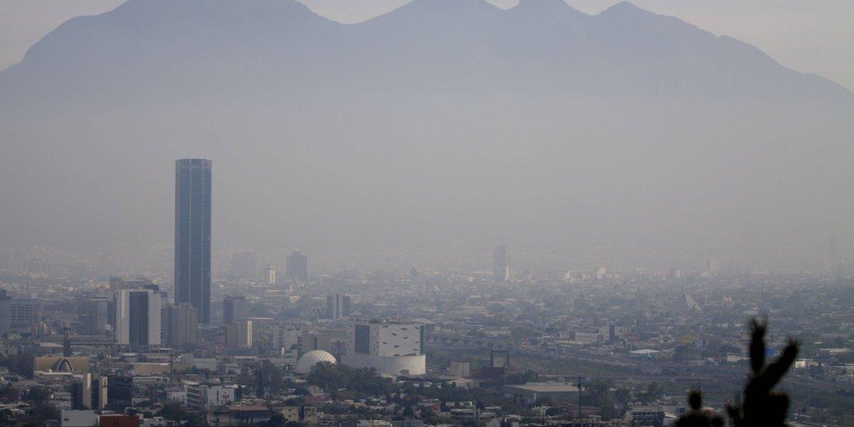 Activan alerta ambiental por malas condiciones atmosféricas en Monterrey