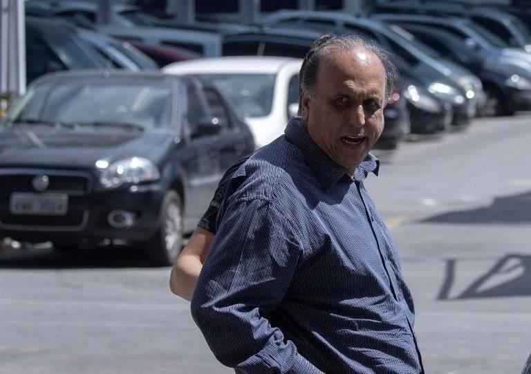 Luiz Fernando Pezao, detenido en Rio de Janeiro
