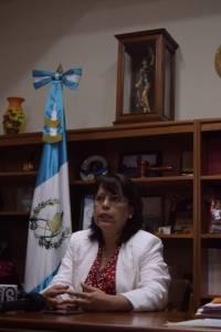 Magistrada Silvia García.