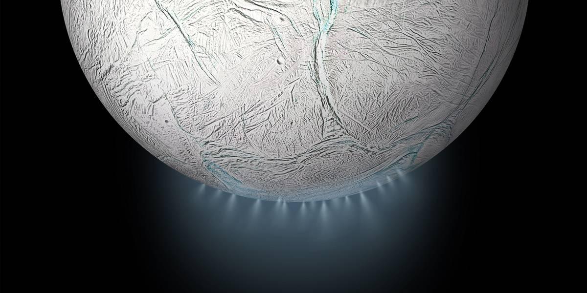 Encélado la luna de Saturno podría albergar vida y un millonario quiere probarlo