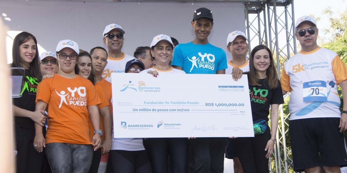 """#TeVimosEn: Banreservas realiza carrera 5K en beneficio de la Fundación """"Yo También Puedo"""""""