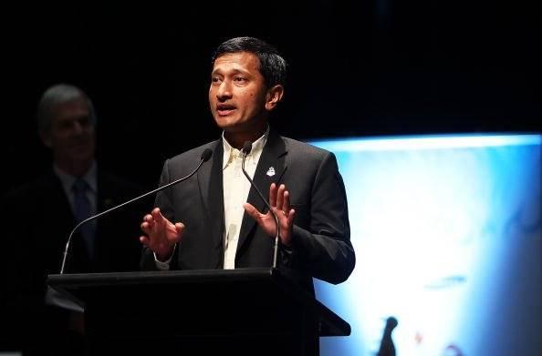 Vivian Balakrishnan, ministro de Relaciones Exteriores de Singapur Foto: Getty Images