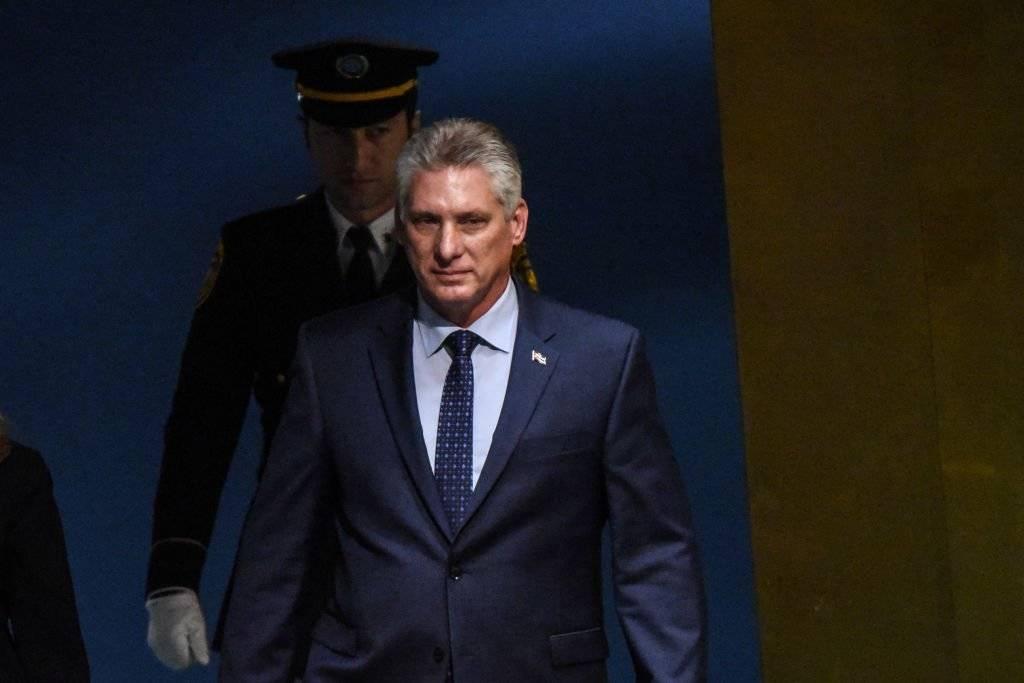 Miguel Díaz-Canel Bermúdez, presidente del Consejo de Estado y del Consejo de Ministros de la República de Cuba Foto: Getty Images