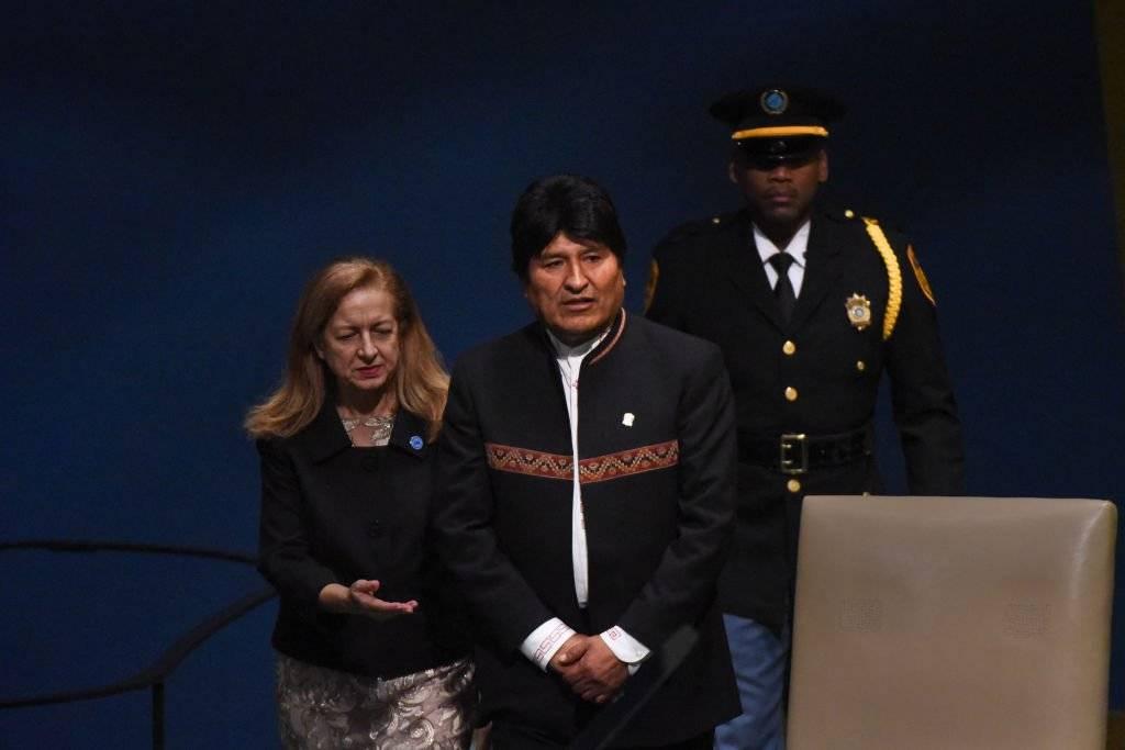 Evo Morales Ayma, presidente del Estado Plurinacional de Bolivia Foto: Getty Images