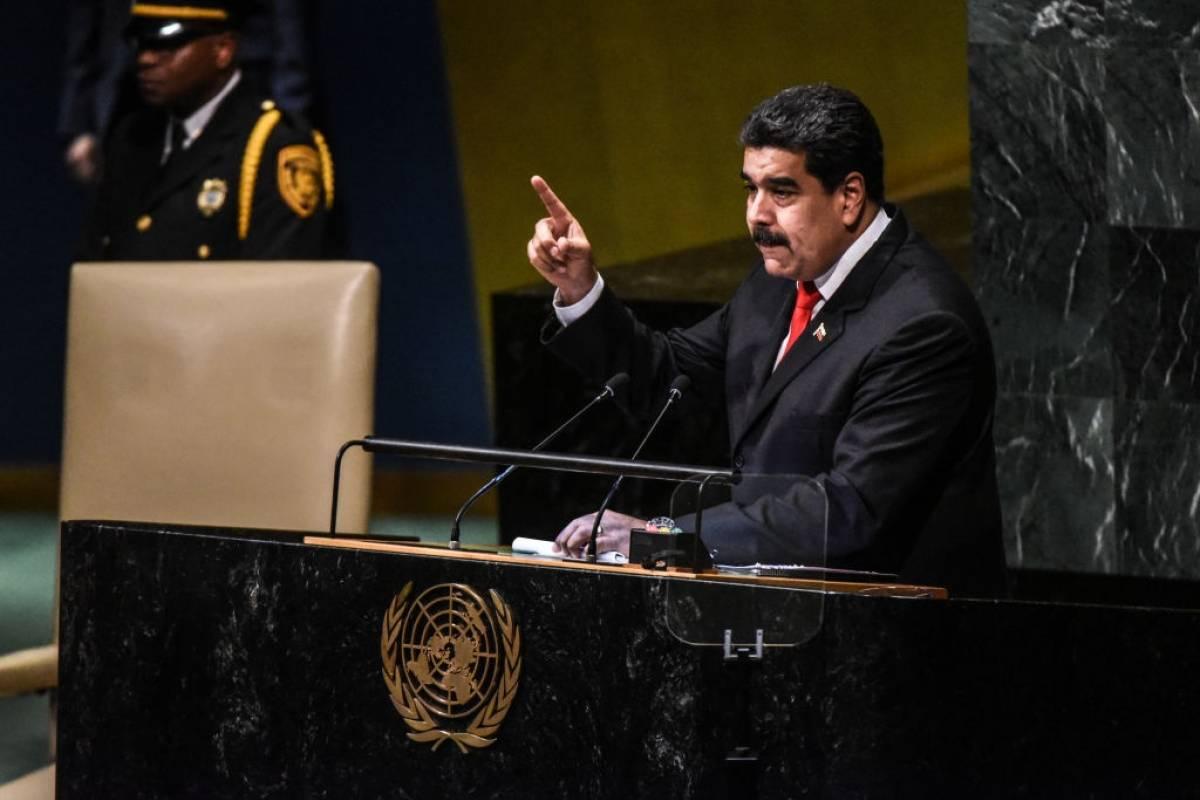 Nicolás Maduro, presidente de la República Bolivariana de Venezuela Foto: AP