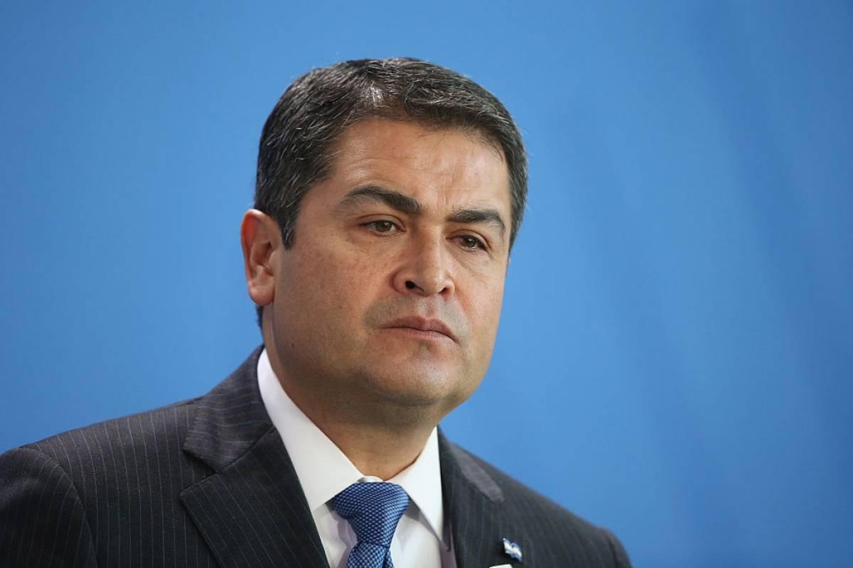 Juan Orlando Hernández Alvarado, presidente de la República de Honduras Foto: Getty Images