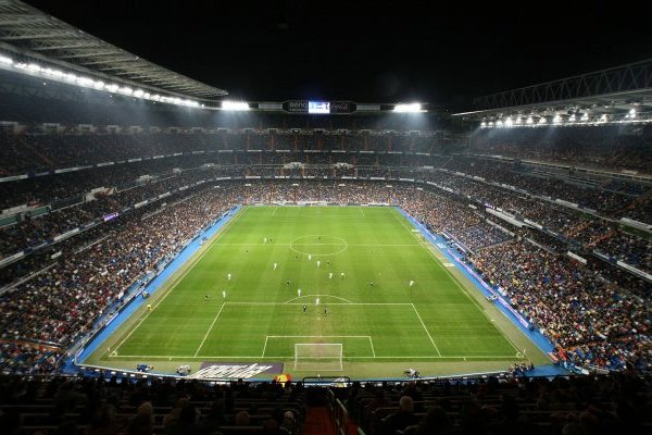 El Santiago Bernabéu asoma fuerte para albergar la Copa Libertadores / imagen: Getty Images