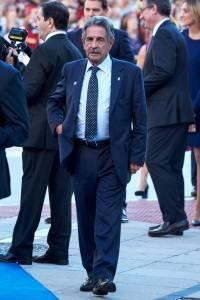 Miguel Ángel Revilla, presidente de la comunidad autónoma de Cantabria, España