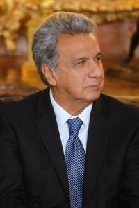 Lenín Moreno Garcés, presidente de la República del Ecuador
