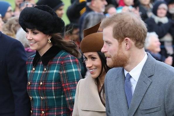 Meghan, Kate y Harry