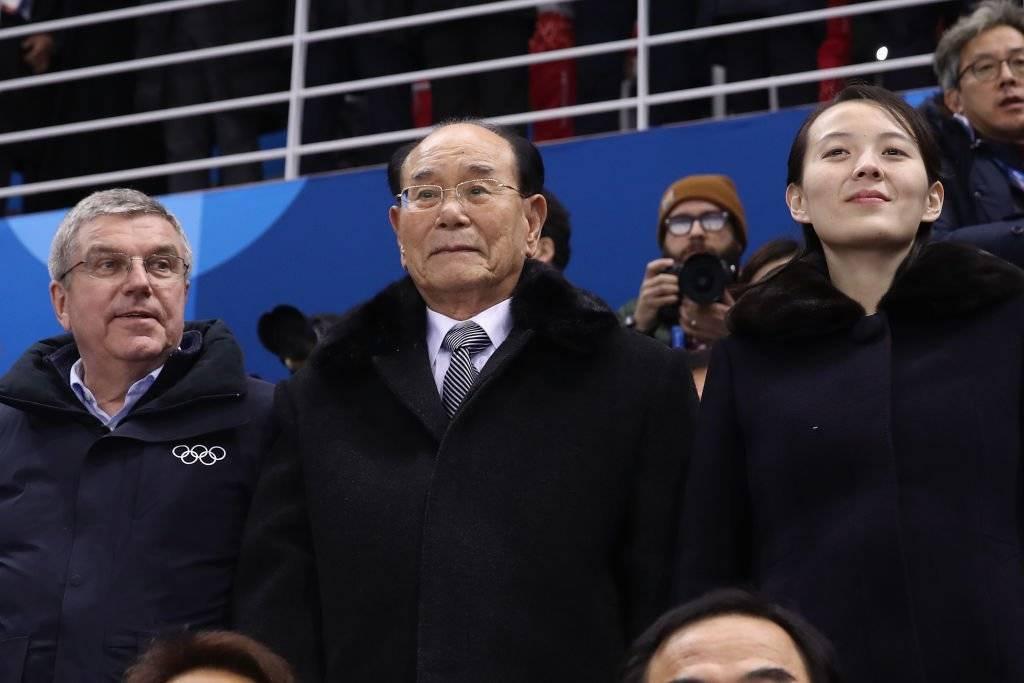 Kim Yong Nam, presidente del presídium de la Asamblea Popular Suprema de la República Popular Democrática de Corea Foto: Getty Images