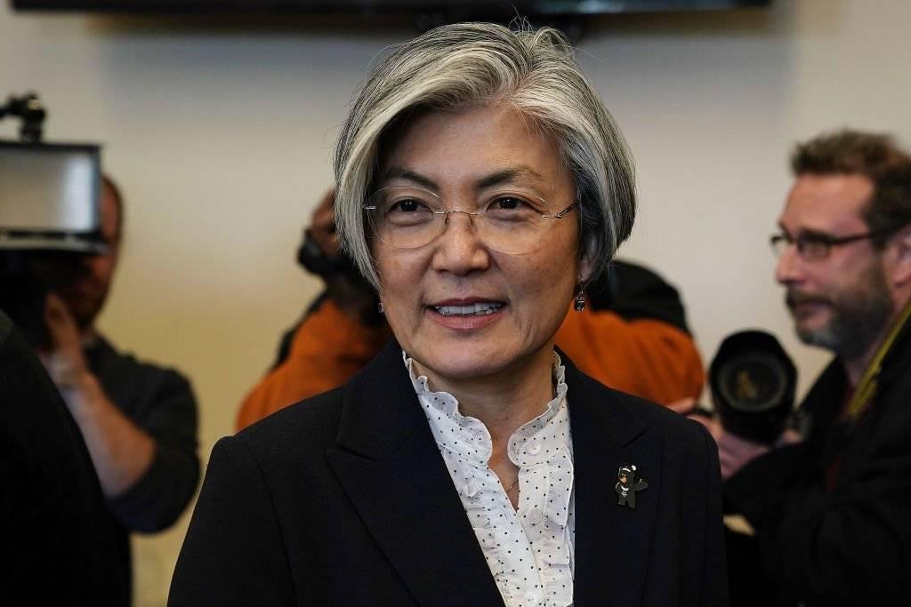 Kang Kyung-wha, ministra de Relaciones Exteriores de la República de Corea Foto: Getty Images