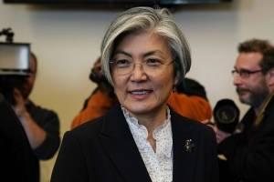 Kang Kyung-wha, ministra de Relaciones Exteriores de la República de Corea