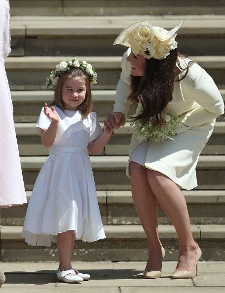 Kate y su hija Charlotte