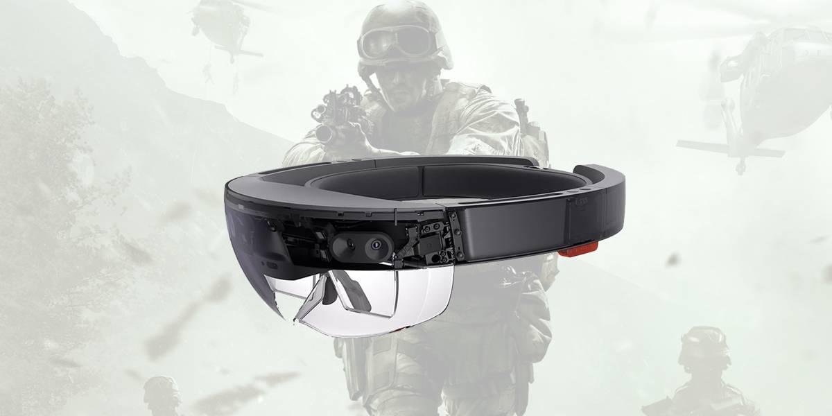 Hololens de Microsoft son la nueva arma de combate del ejército de EE.UU.