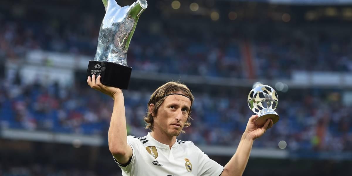 Luka Modric gana Premio al Mejor Jugador del Mundo según IFFHS
