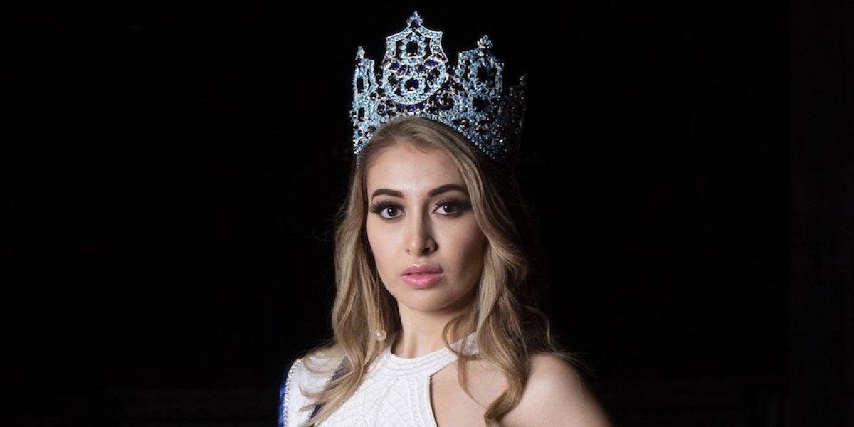 Miss Guatemala explica por qué sintió pánico en la pasarela de Miss Universo