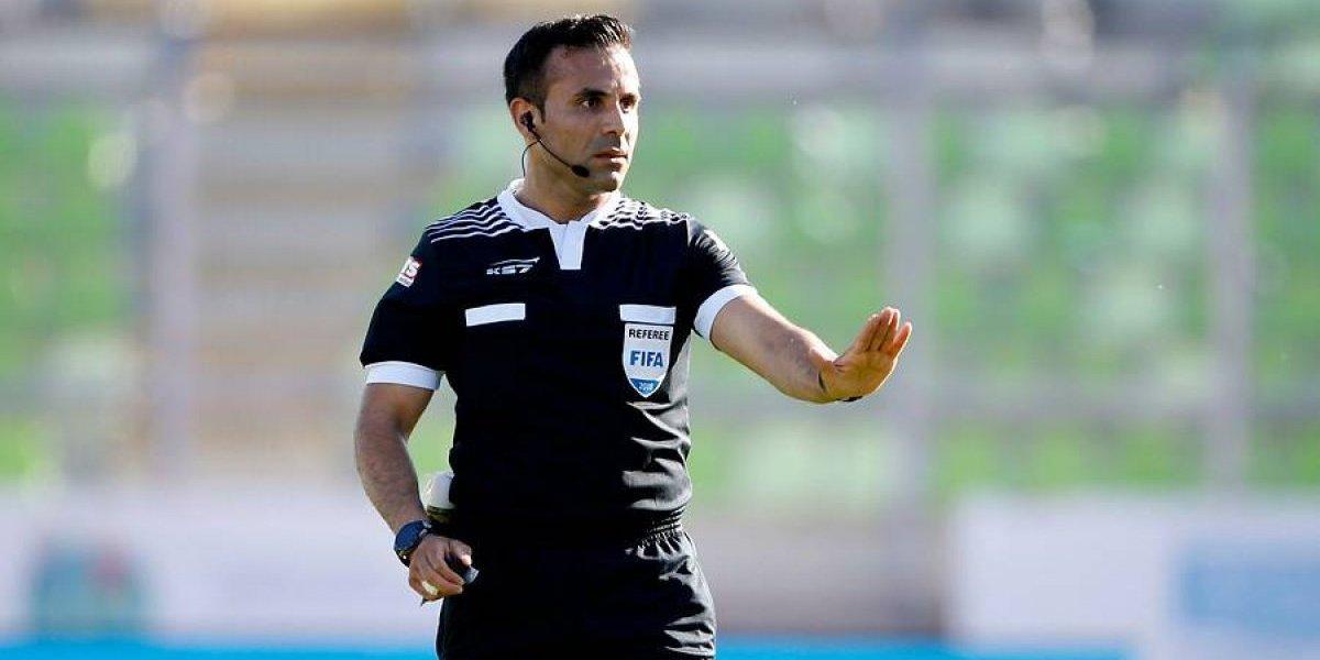 Piero Maza fue escogido por sus pares como el mejor árbitro chileno del 2018
