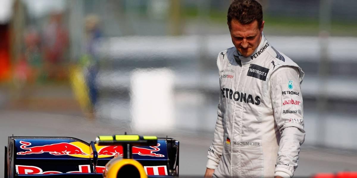 Detalles sobre la apariencia de Schumacher