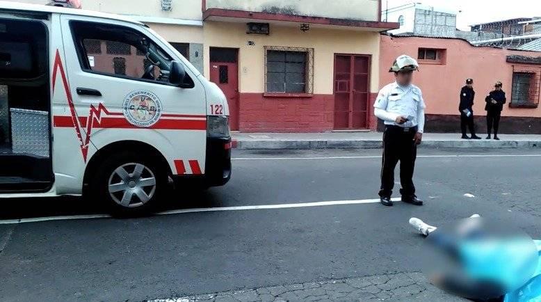 Ataque armado en zona 7 deja una persona fallecida