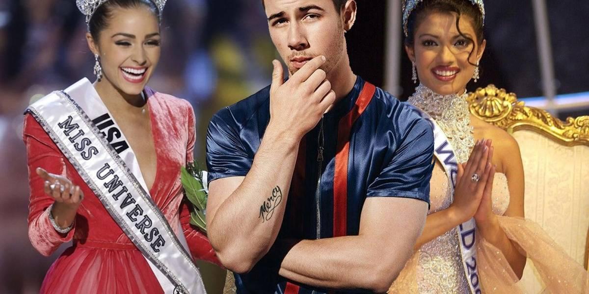 Una Miss Universo y una Miss Mundo: Los amores de Nick Jonas