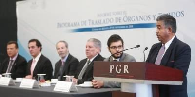 PGR recibe reconocimiento por su apoyo en el traslado aéreo de órganos