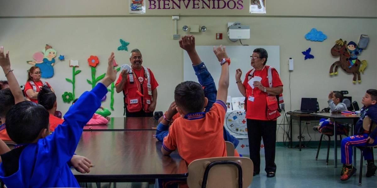 Enfocada la Cruz Roja en apoderar a la niñez