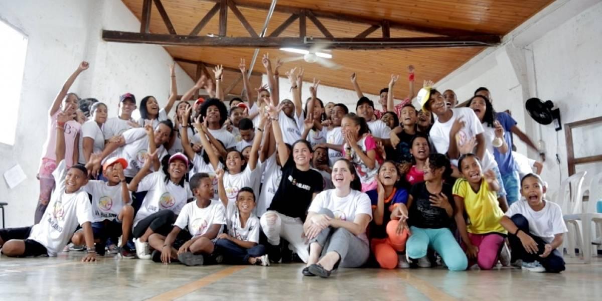 Vive Bailando empoderó a cien jóvenes del barrio Las Flores en Barranquilla