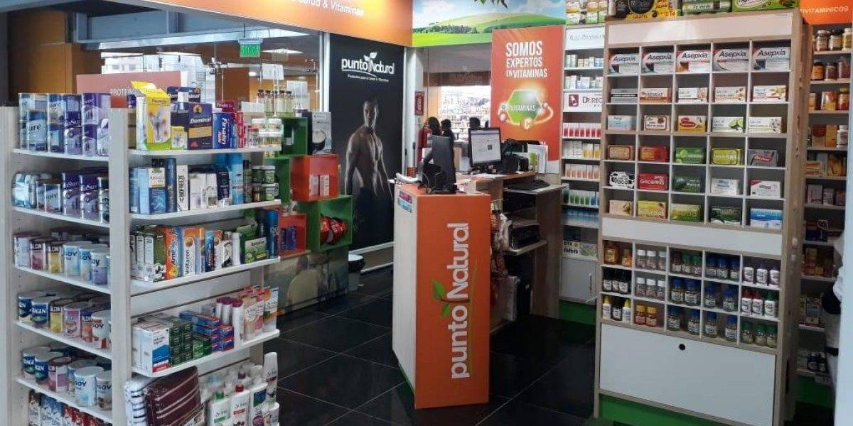 """Punto Natural: """"Excelencia en el servicio y variedad de productos naturales para tu salud"""""""