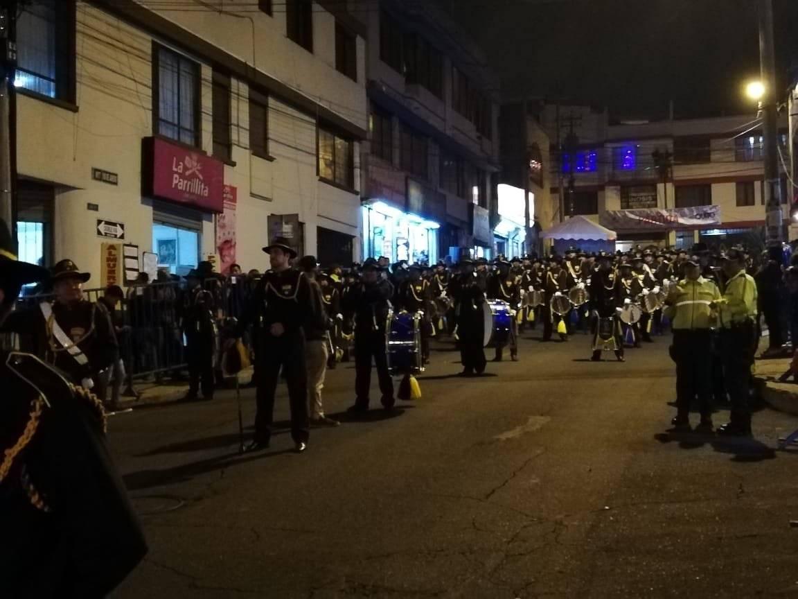 Segunda eliminatoria de la carrera de coches de madera Metro Ecuador