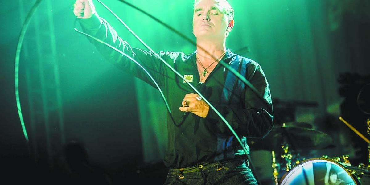 Show de Morrissey mescla hits e novas faixas; cantor se apresenta no domingo