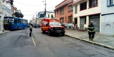 Accidente en Quito