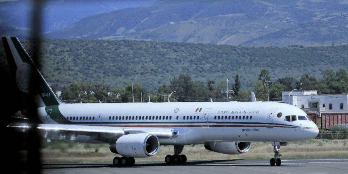 Avión presidencial estaría a la venta hasta el lunes